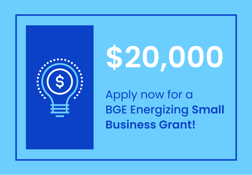 BGE small business grant